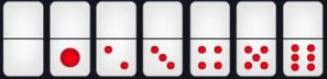 kartu domino seri 1